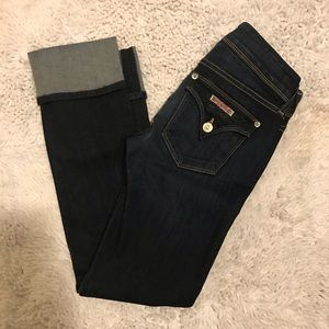 Hudson Jeans Jeans - Hudson Jeans Ginny Straight Crop Jeans